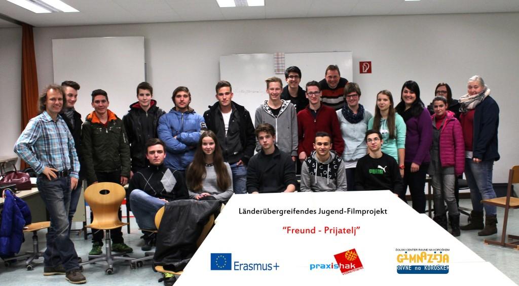 Čezmejni filmski projekt mladih »Freund-Prijatelj«