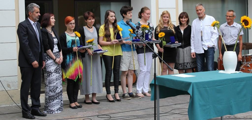 Slovesna podelitev maturitetnih spričeval 2015