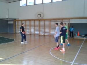 Košarkarska zveza Slovenije opazuje naše dijake