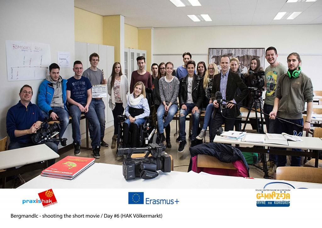 Bergmandlc – shooting the short movie
