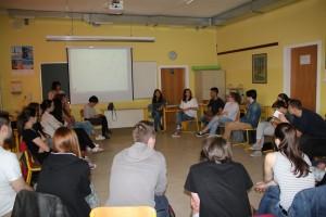 Delavnice o preprečevanju sovražnega govora v izvedbi mirovniškega inštituta v Ljubljani