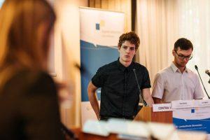 Landesfinale Jugend debattiert international 2018